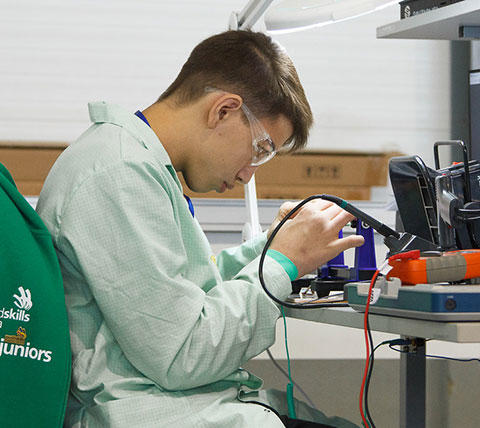 WorldSkills Hi-Tech 2019: Электроника