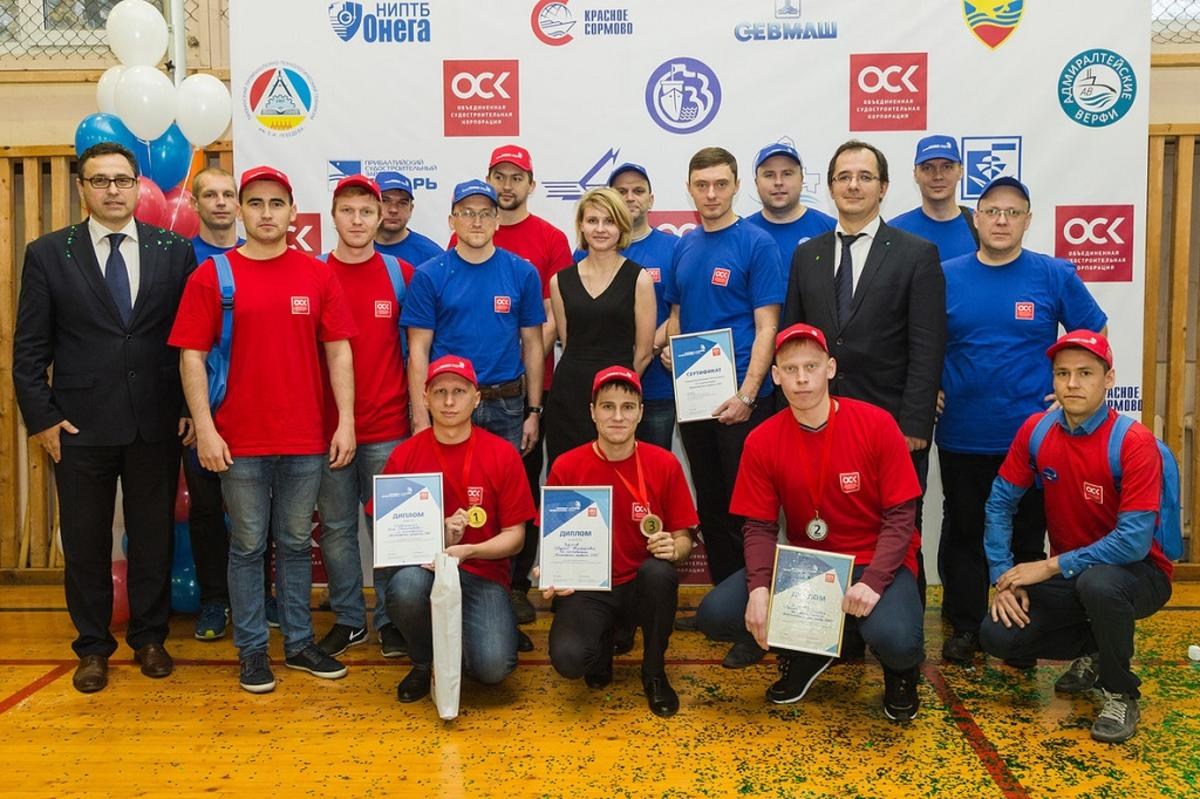 Три победителя корпоративного чемпионата ОСК представят корпорацию на WorldSkills Hi-Tech 2016