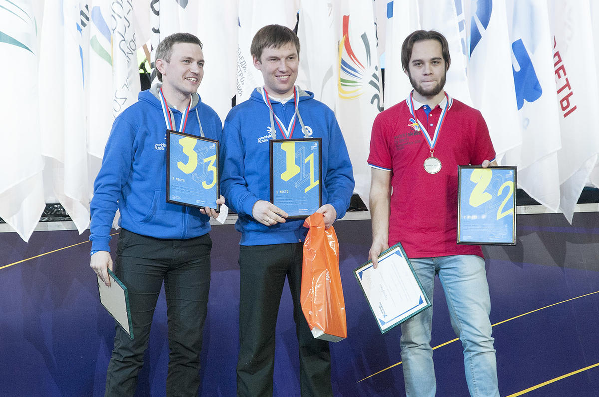 Команда Росатома победила в WorldSkills Hi-Tech-2015